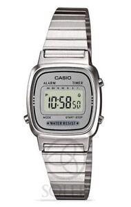 6fc4878b73bb Reloj Casio digital mujer resina Acero-la670wea-7ef