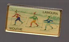 Pin's Mouthe / Lamoura (stations de ski / Double attache)