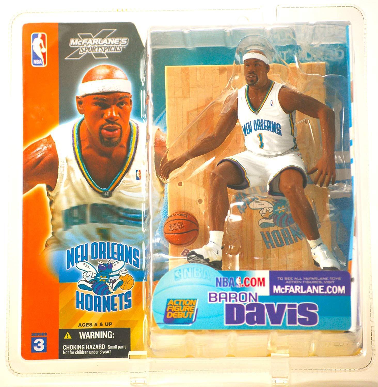 "MCFARLANE - NBA SERIES 3 – BARON DAVIS - NEW ORLEANS HORNETS - 6"" FIGURE"