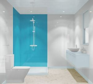 Blue Acrylic Shower Wall Panels, Reflect by MultiPanel and Colour ...
