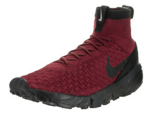 87ddbda98510 Nike Men s Air Footscape Magista Flyknit Fc Team Red Black Team Red ...