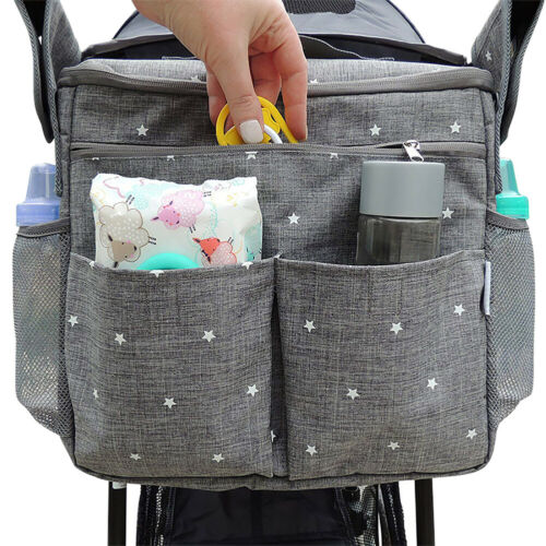 Kinderwagen Organizer Aufbewahrungstaschen Windeln Wickeltasche Aufhängetasche