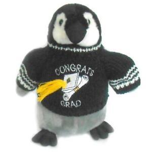 Penguin-Graduation-Graduate-Plush-Stuffed-Animal-10-034-Tall