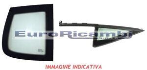 VETRO-FISSO-POSTERIORE-DESTRO-FIAT-500-07-gt-VERDE-INCAPSULATO-BORDO-CROMATO
