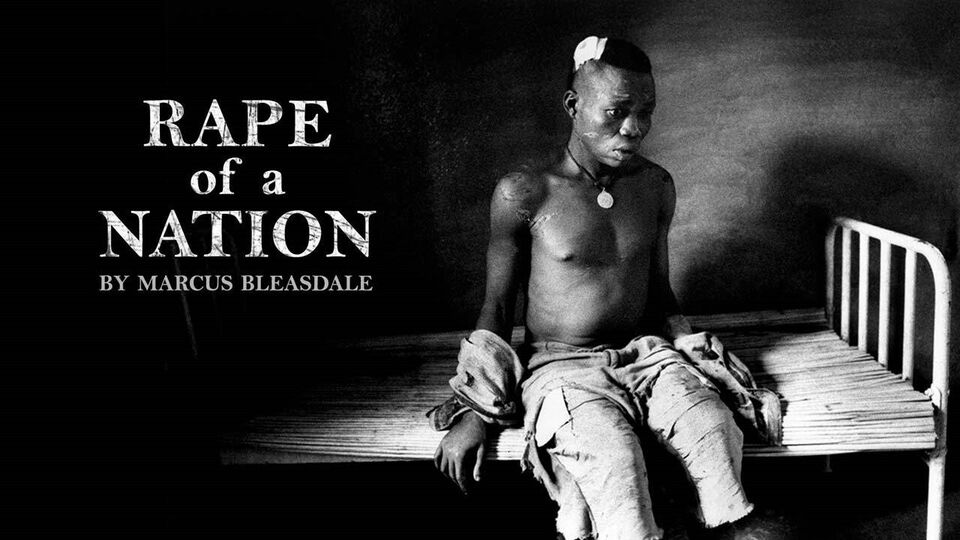 Marcus Bleasdale, The Rape of a Nation, Hardcover