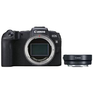 Canon EOS RP Mirrorless Digital Camera 26.2 MP + Canon Mount Adapter EF-EOS R