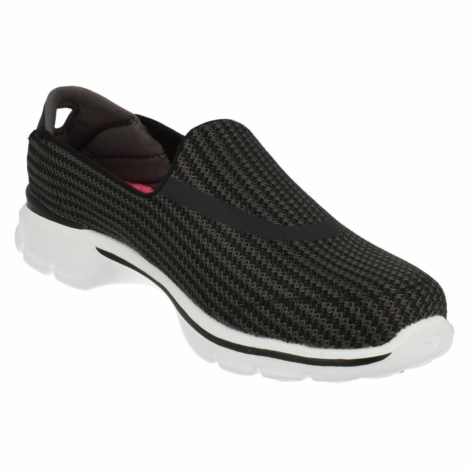 Ladies Black White Navy White I Go Go Technology Technology Technology Go Walk 3 Skechers 13980 a2a6a8