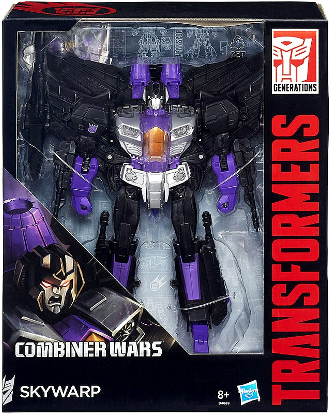 Hasbro Transformers Generations   Combiner Wars - SKYWARP Leader Class