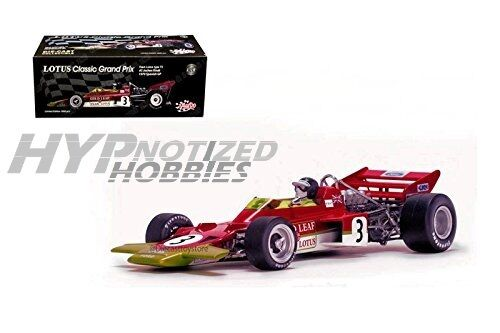 SUNSTAR 1 18 LOTUS 72 JOCHEN RINDT 1970 SPANISH GP DIE-CAST RED 18273