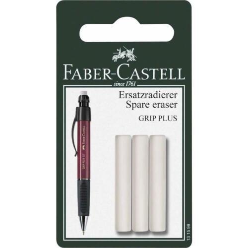 Ersatzradierer für Druckbleistift Grip Plus Radiergummi Set Faber-Castell 1598