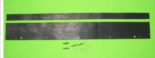 AMC AMX Javelin 68 69 70 71 72 73 74 radiator weatherstrip seal kit w clips