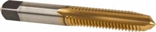 3 Flute H3 High Speed Steel Straight Fl... TiN Coated Kennametal 3//8-16 UNC