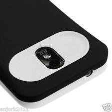 Samsung Galaxy S2 4G Sprint Boost D710 R760 Hybrid Case Cover Black White