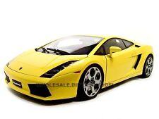 LAMBORGHINI GALLARDO YELLOW 1/12 DIECAST MODEL CAR BY AUTOART 12091