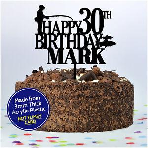 PERSONALISED-Fishing-Fisherman-Happy-Birthday-Cake-Topper-Him-Son-Dad-Grandad