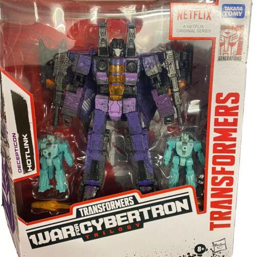 Transformers War For Cybertron Netflix series Decepticon Hotlink Walmart Excl
