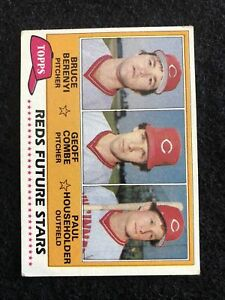 1981 Topps #606 Bruce Berenyi/Geoff Combe/Paul Householder NM-MT RC Rookie Reds
