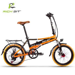 d801fa81492 RICHBIT City Electric bike 20'' Folding ebike 48V *250W Motor ...