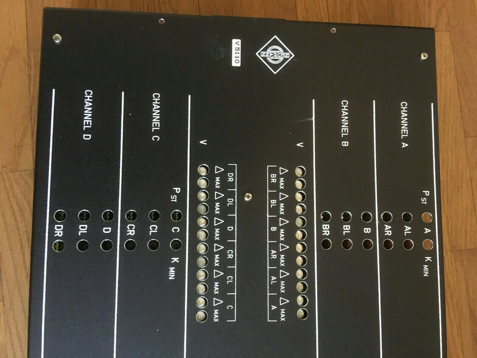 Georg Neumann Berlin V 5110 Studio Console Mischpult digital Übertrager MO Modul