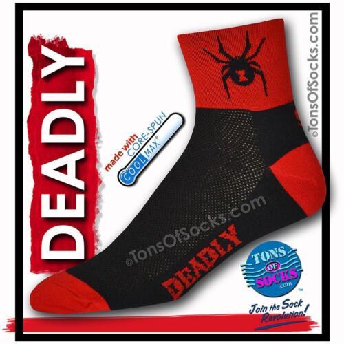 CoolMax® Black Widow Spider Performance Socks