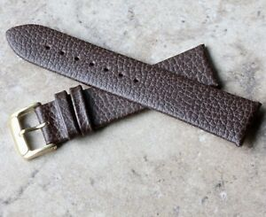Comfortable-calf-lined-great-texture-leather-20mm-vintage-watch-strap-1960s-70s