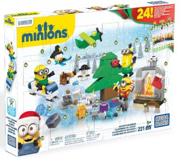 Mega Bloques Minions / Cpc 57 / Calendario Adviento Minions