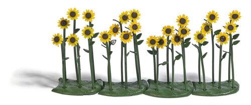 Busch 1240 24 Sonnenblumen H0