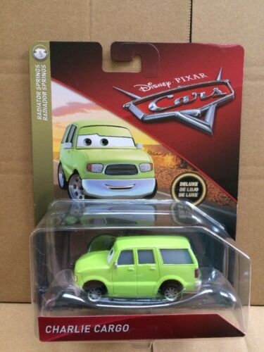 Disney Cars Diecast-Charlie Cargo-Deluxe-SARGE /'S BOOT CAMP-carte 2018