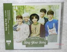 SHINee Sing Your Song 2015 Taiwan Ltd CD+12P+Card [Japanese Lan.]