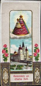 Mary-Zell-Pilgrimage-Holy-Icon-Devotional-Picture-Austria-Coloured-M-5918