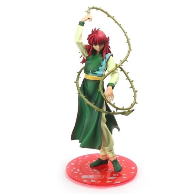"YU YU HAKUSHO Anime ""Kurama"" PVC Figures Poltergeist Report 8"" with box"