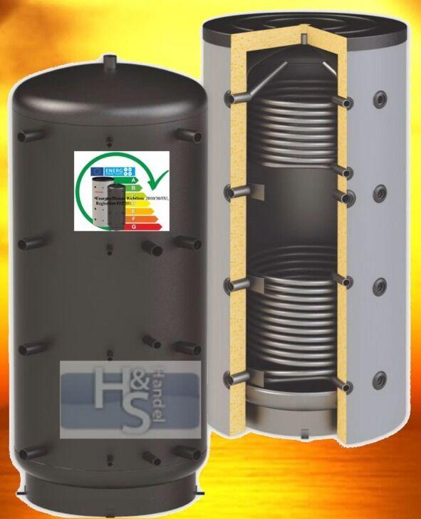 Solarspeicher mit 2 Tauscher 1000 Liter Pufferspeicher