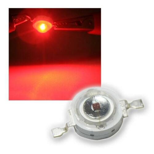 1 W rote High Power SMD LEDs 1 Watt 350mA red rouge 50 x Highpower LED 1W Rot