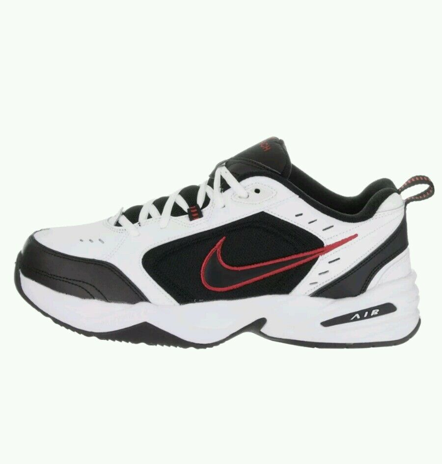 New shoes for men and women, limited time discount Nike Men's Air Monarch Iv  White/Black Training Shoe 9 Men Us