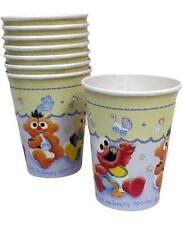 Sesame Street Beginnings Baby Shower Paper Cups 8 Per Package ~ Party Supplies