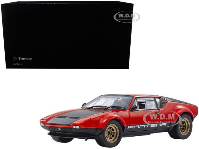 KYOSHO 08852R DE TOMASO PANTERA GTS 1//18 DIECAST MODEL CAR RED