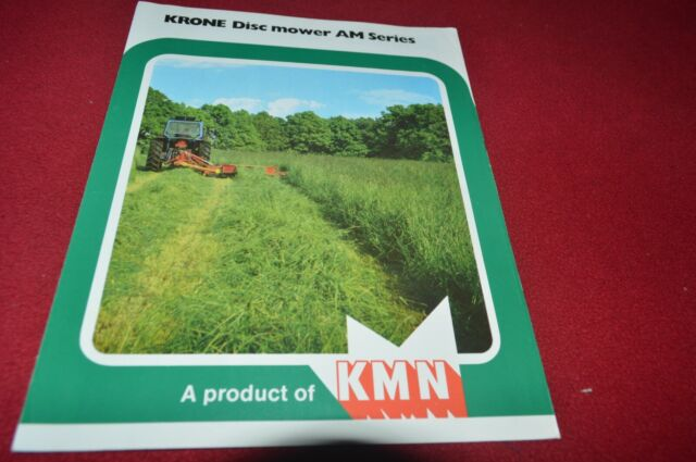 Krone AM 166 201 241 Disc Mower Dealers Brochure CDIL