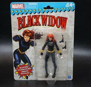 Marvel Legends Retro Vintage Wave 1 Black Widow Action Figure 2017