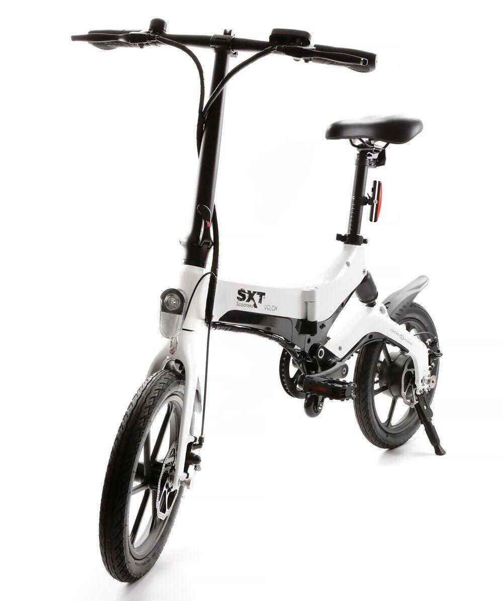 SXT Velox Elektro-Fahrrad E-Bike weiss Reichweite ca. 60 km 18,9 kg ca. 25 km h  | Um Eine Hohe Bewunderung Gewinnen Und Ist Weit Verbreitet Trusted In-und