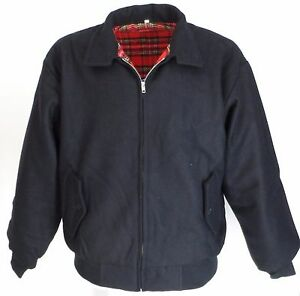 Heavy-Duty-Azul-Marino-Lana-Harrington-de-Superdry-039-s