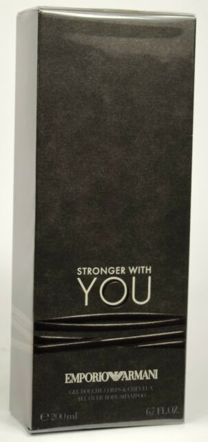 38c725d8d89b6 Stronger With YOU by Emporio Armani Fragrance All Over Body Shampoo NEW  SEALED