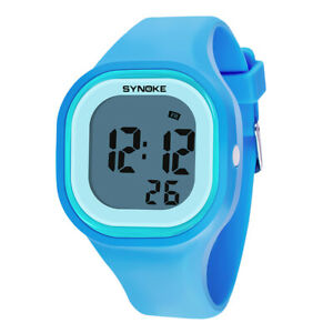 Pure-Color-Simple-Unisex-Digital-Waterproof-Colorful-Luminous-Silicone-Watches