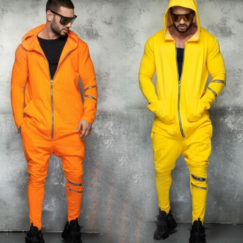 By Alina Uomo Jogging Tuta Per Il Tempo Libero Tuta hoodie longjacke joggighose S-XL