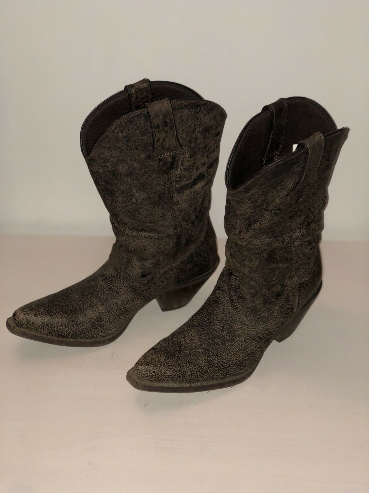 NEW  Durango Women's Slouch Cowgirl Cowboy Boots shoes Brown Size 7