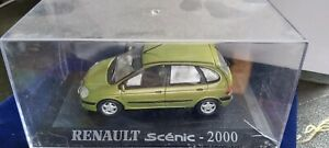 IXO-1-43-RENAULT-SCENIC-2000-NEUF-EN-BOITE