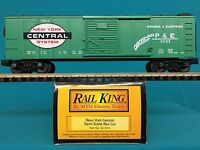 MTH 30-7414 O Scale New York Central Boxcar Model Train