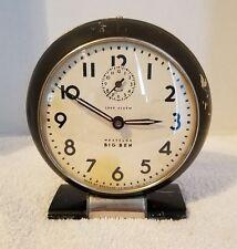 Vintage 1945-48 Westclox Big Ben Wind Up Art Deco LOUD Alarm Clock