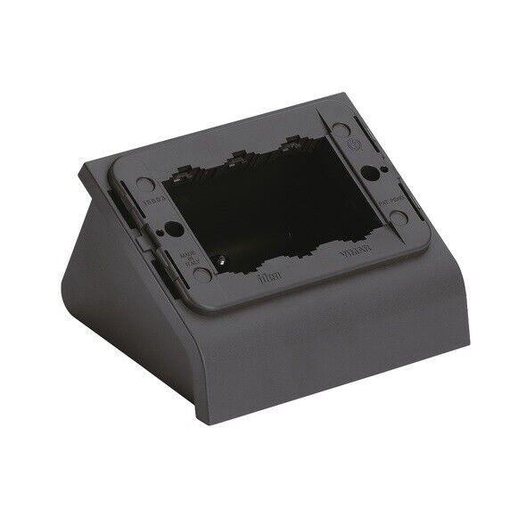 Vimar 16803 - Boîte de table 3M - Idea - gris