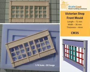 Contemplatif Victorian Shop Front Oo Gauge Model Railway Scenery - Cm35