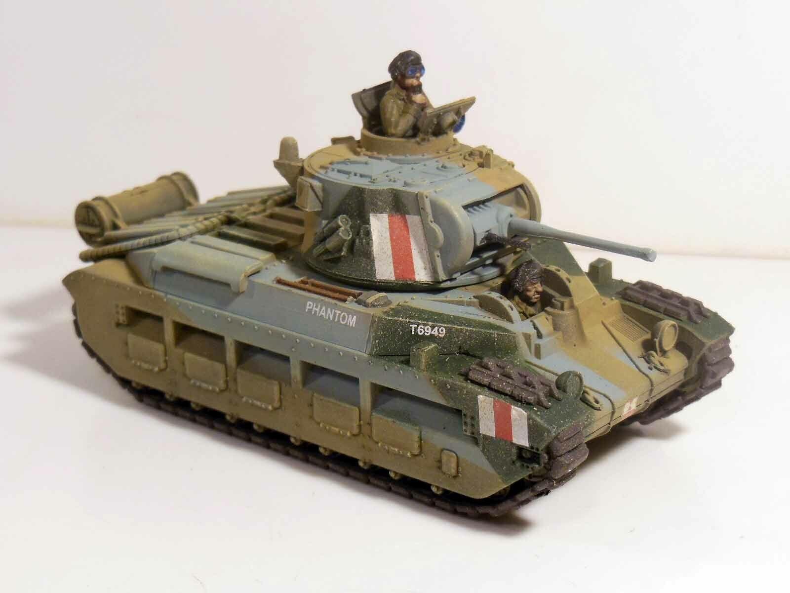Acción De Perno 28mm 8th Británico Ejército Tanque Matilda Pintada  1